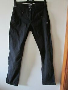 ladies black walking trousers from Craghoppers size 10