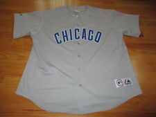 Majestic NOMAR GARCIAPARRA No 5 CHICAGO CUBS Button-Down (XL) Jersey RED