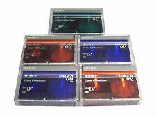 5 x Sony MiniDV Camcorder Kassette DVM60 - Color Collection