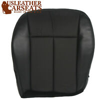 2011 Chrysler 200 300 Driver Side Bottom Replacement Leather Seat Cover Black