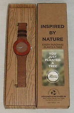 Wooden Watch By Analog Watch Co. From The Carpenter Collection NEW In Box