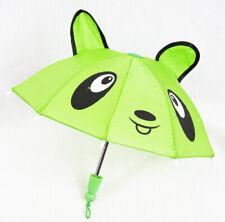Mini Kids Childrens Cute Umbrella Assorted Colour Parasol Brolly Metal Ribs Toy