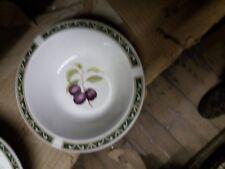 Arthur Woods Classic Fruit Rimmed Fruit Bowl.