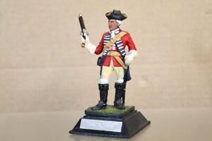 ROYAL HAMPSHIRE FINE ART FIGURINE 85mm KINGS REGIMENT DRAGOON GUARDS 1751 oa