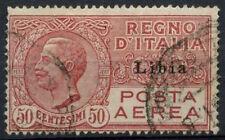 Libya Italian Colony 1928 SG#63, 50c Rose Air Used #A92578