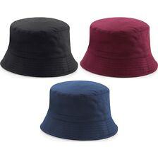 Mujer Beechfield 100% Cotton Elegante Reversible Sombrero de Pescador a88050c36ea