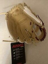 New listing Wilson FP75SS Softball Glove Fast Pitch White And Beige 11.75 With Red Stitch