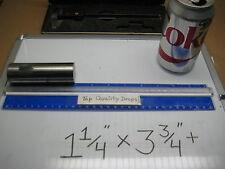 "Medical Implant Titanium Alloy 6AL-4V ELI 1 1/4"" x 3 3/4""+ Bar Rod Ring Stock A+"