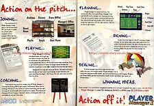 "Player Manager 2 ""ANCO"" 1995 Double Page Magazine Advert #5807"