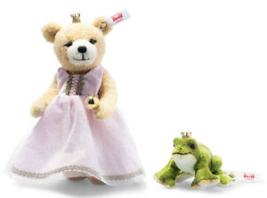 Steiff 'The Frog Prince' - limited edition teddy bear set - 006098 - BNIB