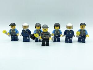 Lego ® City Police Figure Bank Robber with crowbar and dollar No. 34