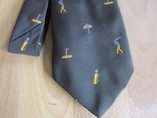 Early Golf Player Trou souvenir & Sac images Cravate par Pjs