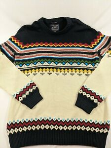 American Eagle Mens Large Seriously Soft Southwest Aztec Bright Thick Excellent