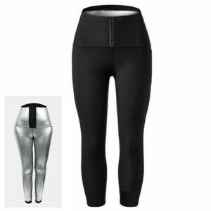 Women Neoprene Shaper Leggings Thermo Waist Trainer Sweat SAUNA Slimming Pants