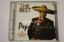 Pepe Aguilar The Best 20 Grandes Exitos Music CD