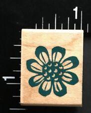 FLOWER PETALS Hero Arts Wood Mounted Rubber Stamp