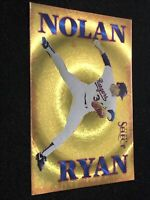 *RARE* 1993 Score Select Baseball NOLAN RYAN NNO HOLO PRISM INSERT, Rangers HOF