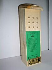 Coveside Conservation Products Solitary Bee House - Maine - NEW