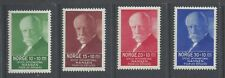 NORWAY 1935 Nansen Refugee Fund set of 4 MNH  SG 235/238