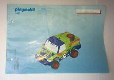Playmobil - Bauplan / Anleitung - DIN A 5 - 4421