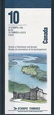 [47220] Canada 1993 Waterways Fish Dolphin MNH Booklet