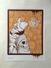 jeremy fish screen print silkscreen | compound gallery upper playground #2