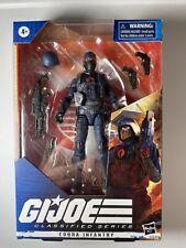 Hasbro GI Joe Classified Series Cobra Trooper Action Figure (1 Of 5) In Hand
