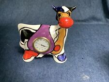 turov art ceramics With Clock Funky Cool