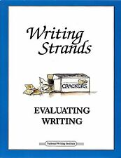 Evaluating Writing Dave Marks for Levels 1 -7, Writing Exposition and Fiction