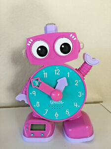 Learning Resources Tock The Learning Clock Toy Pink (See Video)