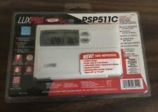 Luxpro Psp511C Heating & Cooling Programmable Thermostats (2) Nib