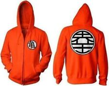 Dragonball Z Dragon Ball Goku Kame Symbol MASTER MUTEN TURTLE Orange Zip Hoodie