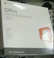 Microsoft Office 2016 Home And Business 32/64-Bit With DVD For 1 PC