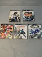 PLAYSTATION PS3 GAME SONIC GENERATIONS & MORE- Lot Of 5- FREE SHIPPING!!