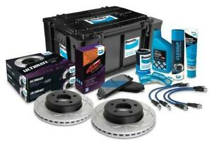 Bendix 4WD Brake Upgrade Kit Suits Ford Ranger PX PX2 PX3 2012-2021 [Height: 50m