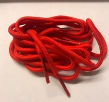 Pair Football Boots And Sports Trainer Shoe Laces (120cm Round Laces)- Red
