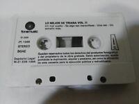 TRIANA LO MEJOR DE TRIANA VOL II 1986 - CINTA TAPE CASSETTE SIN LA CAJA