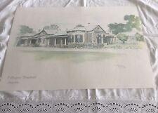 "1990 print of the "" collingrove homestead angaston ""  australia"