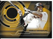 Pablo Sandoval 2014 Topps Baseball Trajectory Relics #TR-PS San Francisco Giants