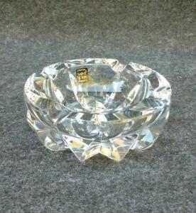 Gros Cendrier Vide Poche En Cristal De St Louis