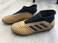 adidas predator Laceless football boots Size UK 10