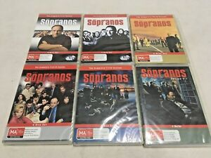 The Sopranos Series Complete Seasons 1-6 New DVD Oz Edition R4 Individual Cased