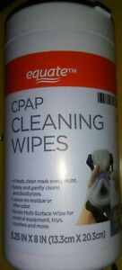 CPAP CLEANING CLOTHS  ~ 62 count ~ Fast Shipping