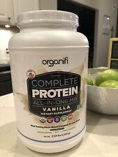 Organifi Complete Protein Vanilla New EXP 11/21