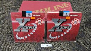 PACK OF 2 - YASAKA XTEND NEW Black 2.0 mm FREE SHIPPING