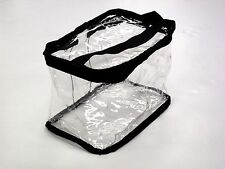 Clear Tote Large Cosmetic Bag Case City Lights 9 1/2 Tote - 403 - 2 PACK