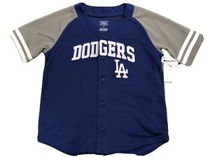 Los Angeles Dodgers Baseball Boy Youth Toddler 4T Sewn jersey NEW L A $25 Retail