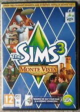 The Sims 3 Monte Vista Expansion - Pc/mac DVD and Unsealed *