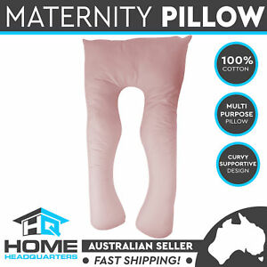Maternity Pillow Pregnancy Nursing Sleeping Body Support Feeding Cushion Pink