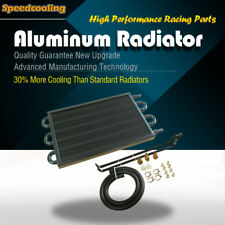6 Row Aluminum Remote Transmission Oil Cooler Radiator Converter MT TO AT
